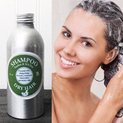 Our 100% Natural Shampoo is made with specific essential oils to repair and prevent Dry Hair.