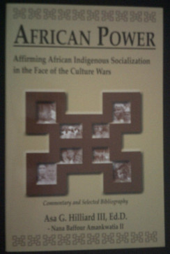 African Power:  Affirming African Indigenous Socialization - Asa G. Williard II