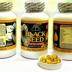 Black Seed Softgel Capsules