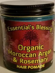 Organic Moroccan Argan & Rosemary Pomade by Essential's Blessing