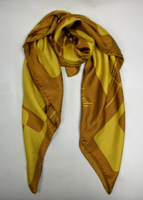 Gold Cubes Scarf