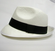 White Trilby Hat