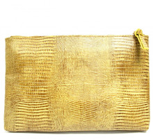 Tan Sofia Clutch