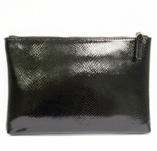 Black Snake Sofia Clutch