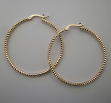 Gold Daria Hoops