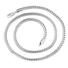 Silver Interweave Necklace