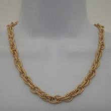 Etched Interlock Necklace