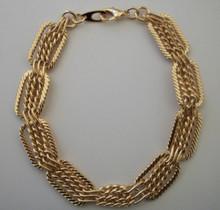Gold Intrecco Bracelet