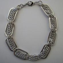 Silver Intrecco Bracelet