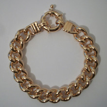 Gold Large Oversize Rope Bracelet