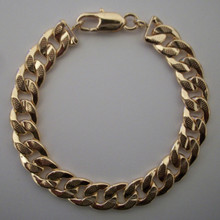 Oversized Gold Dot Link Bracelet