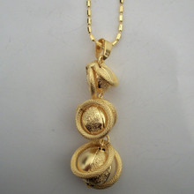 Disc Ball Necklace