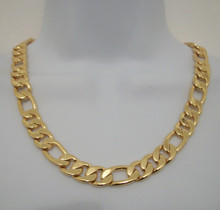 Gold Linx Chain Necklace