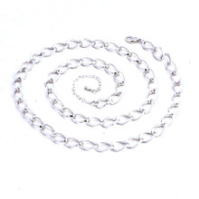 Silver Twist Belt