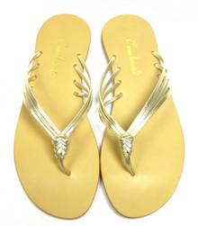 Gold Ava Sandal