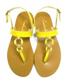 Yellow Clip Sandal