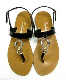 Black Clip Sandal