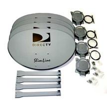 DIRECTV SLMTSTDMAST J-Mount Mast for Slimline Dish 4 Pack SLMTSTD4PK-NB