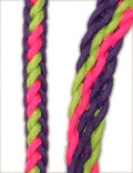 Braided Rein (Flamingo Pink, Sour Apple, Purple Grape)