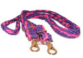 Braided Rein (Pink and Purple)