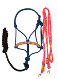 Halter and Rein Set (Pink, Yellow, Blue)