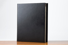 Sr. Padfolio Black Calf