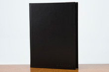 Jr. Padfolio Black Calf