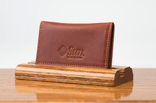 Personal Card Holder Chestnut Bridle