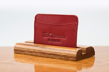 3 Pocket Card Case Ferrari Red