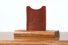 Magnetic Clip Wallet Chestnut Bridle