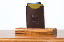 Magnetic Clip Wallet Brown Calf