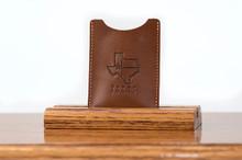 Magnetic Clip Wallet Tan Calf