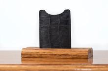 Magnetic Clip Wallet Black Gator