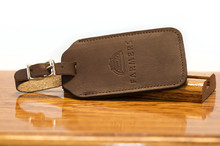 Bag Tag Brown Boomer
