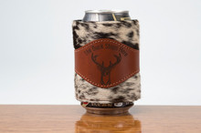 Beverage Wrap Chestnut with Brown & White HOH