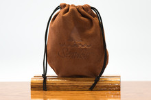 Medium Pouch Chestnut Pig Suede