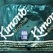 Kimono MicroThin with Aqua Lube Condoms