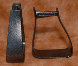 Straight Time Stirrups Packer/Over-Size Stirrup Powder Coated