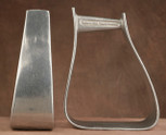 Straight Time Stirrups Packer/Over-Size Stirrup Burnished Aluminum