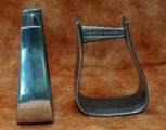 Straight Time Stirrups Little Britches Stirrup Burnished Aluminum