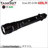 TANK007 PT11L tactical led flashlight Cree R5 420 lumens led torch torches