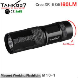 TANK007 M10 Cree Q5 flashlight with magnet one mode led flash ...