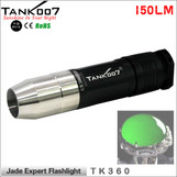 TANK007 TK360 Cree flashlight for Jade jeweler appraisal white light 160LM with stainless steel head