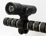 TANK007 zoom adjustable light Cree flashlight  Bicycle bike light led flashlight TK737