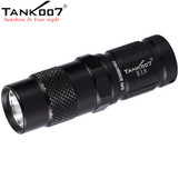 TANK007 E18 180 Lumens CREE LED XP-G R5 EDC Camping Flashlight 3-modes Torch+Keychain