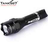 TANK007 Tactical LED OUTDOOR flashlight Hunting led flashlight with remote switch PT40