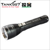 TANK007 Diving LED flashlight torch diving depth more than 200 meters in water D60