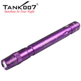 UV02 395 nm 1W Penlight TANK007 utraviolet flashlight