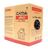 CAT5E 4 Pair Wire PVC/CMR 350 MHz UTP 1000' Pull Box