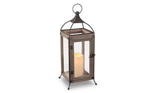 Wood LED Lanterns